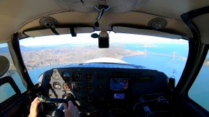 SF Bay Area Flight in a Comanche 250