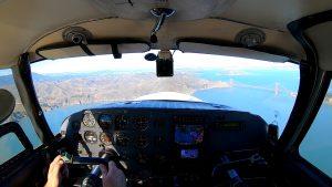 SF Bay Area Flight in a Comanche 250